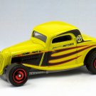 """2020 Matchbox #95 """"33 Ford Coupe in Yellow Mint on Card"""