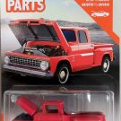 2020 Matchbox Moving Parts #11 1963 Chevy C10 Pickup in Red Mint on Card