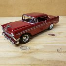 1956 Chevrolet Bel-Air 1:24 Scale Model in Dark Cherry Metallic