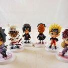 naruto keychain keyring key chain anime figure figures ninja bandi uchiha sasuke