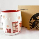 Starbucks Christmas Mug Holiday Coffee Oz Cup Red 2013 New vietnam Ceramic mugs