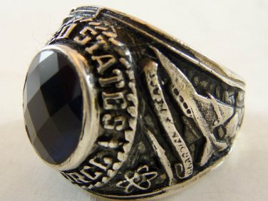 ring vietnam era military war gear collectibles SIZE 11 . 25 us army air force