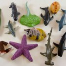 Safari Wild Animals ANIMAL JUNGLE TOYS FIGURES 12 SET Lot ZOO Sea LTD FRIENDS a