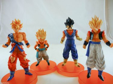 dragon ball balls dragonball z goku figure FIGURES dbz statue hybird saiyan LOT