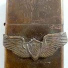Vietnam War vintage cigarette cigarettes lighter lighters case 64 65 Wings Medal