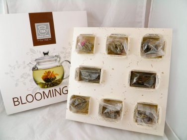 new dragon PEARL Blooming Flower FLOWERING tea TEAS ball pcs 1 box a rare hot a