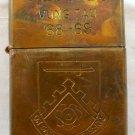 Vietnam War vintage cigarette cigarettes lighter lighters case 68 69 FLAG SWORD