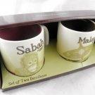 3 Oz 3Oz Starbucks Malaysia Set Global Icon Demitasse Mini Mug Espresso Sabah a
