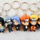 naruto keychain keyring key chain anime figure figures ninja bandi Sasuke Konan