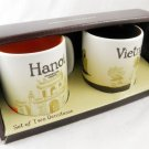 Starbucks Mug Cup Coffee City mugs New Collector Vietnam Hanoi 3 Oz s 3oz demi