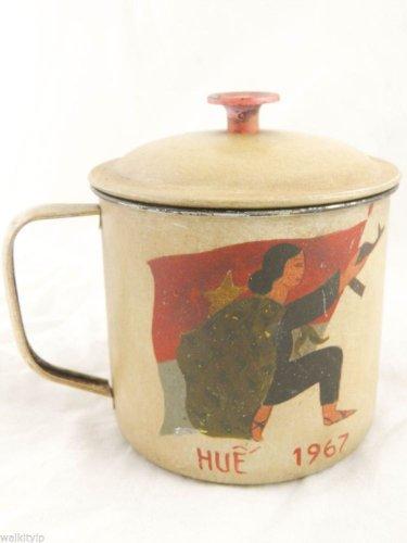 vietnam viet nam cong VIETCONG war us mug era cup rare hot 1967 1 ONE SET VC F a