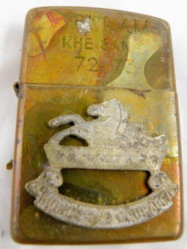 Vietnam War vintage cigarette cigarettes lighter lighters case 72 73 Horse batch