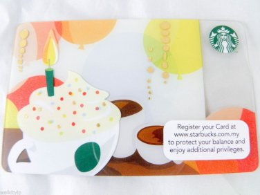 Gift Card giftcard Malaysia Starbucks Gift Edition New Collectible 2013 birthday