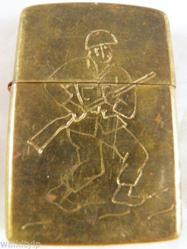 Vietnam War vintage cigarette cigarettes lighter lighters case 69 70 2d solider