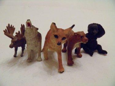 Safari Wild Animals ANIMAL JUNGLE TOYS FIGURES 12 SET Lot ZOO forest LTD 5+ Boys