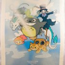 Totoro Poster My Neighbor Anime 12 X 16 Animation Japan Wall Art Ghibli Studio a