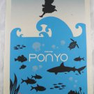 Poster Ponyo Movie Miyazaki Hayao Sided Animation Double Ghibli Adv X Paper 1