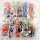Bearbrick Gundam Rbrick X Figure Free Shipment Medicom 10 pcs set Vol 1 Ms zaku