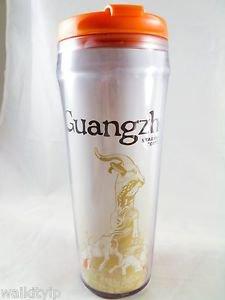 Starbucks City Guangzhou China 12oz Collector Coffee Series Tumbler New 12 oz
