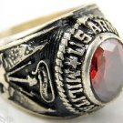 ring vietnam era military war gear collectibles SIZE 9.5 United States MP red a