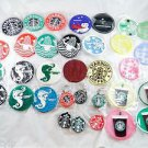 Starbucks Coffee Coaster Coasters Cup Gift Pack 2012 (unknown) Rubber set of 32