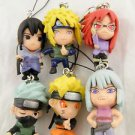 Naruto Keychain Key Anime Chain Uchiha Sasuke Shippuden New kakashi Minato Karin