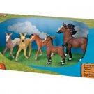 Safari Set Model Ltd Tiny Horse Horses Realistic Plastic