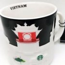 Starbucks Vietnam Relief Mug Coffee New Oz City Series 16oz Collection Rare Cup