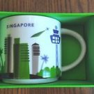 You Are Here Singapore Starbucks Mug Cup  New Collection 14oz Oz 14 Box Rare Yah