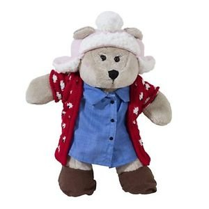 Bearista Christmas 2016 Starbucks Girl Bear Teddy New And Holiday Set Barista Re