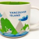 Vancouver Starbucks Island You Here Mug Collector Series Global Icon Collection