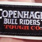 COPENHAGEN BULL RIDERS TOUGH COMPANY HAT STICKER CLOTH