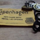 "COPENHAGEN LID CUTTER WITH LANYARD AND MEDALLION""NEW/UNUSED IN PKG"""