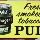 VINTAGE '60-'70S COPENHAGEN/SKOAL/HAPPY DAY-FRONT/BACK DOOR STICKER