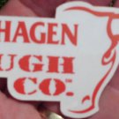 COPENHAGEN TOUGH CO.STICKER 6.25 BY 2.25 INCHES