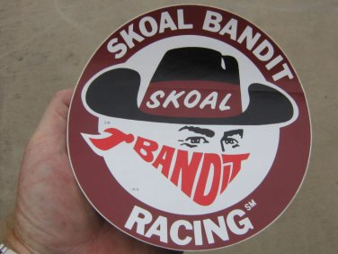 "SKOAL BANDIT RACING 6"" ROUND DECAL"