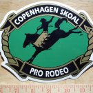 """COPENHAGEN/SKOAL PRO-RODEO DECAL 7"""" WIDE"""