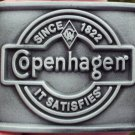 "COPENHAGEN SINCE 1822 IT SATIFIES BUCKLE PEWTER COLOR FINISH ""NEW/UNUSED"""