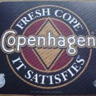 2000 COPENHAGEN   PLASTIC COUNTER MAT 17 X 14.5