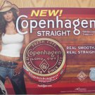 2005 COPENHAGEN STRAIGHT COWGIRL PLASTIC COUNTER MAT 17 X 14.5 NEW/UNUSED