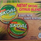 2007 SKOAL 3-D CITRUS BLEND PLASTIC COUNTER MAT 17 X 14.5 NEW/UNUSED