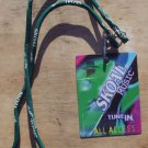 SKOAL MUSIC TUNE IN VIP/ALL ACCESS EVENT CARD ON LANYARD