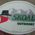 SKOAL BANDIT OUTDOORS DECAL 8 X5.25 INCHES