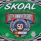 1998 SKOAL 50TH ANNIV. NASCAR ORIGINAL IN-STORE WINDOW SIGN PAPER