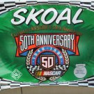 "SKOAL 50TH ANNIVERSARY NASCAR VINYL BANNER""NEW/UNUSED"""