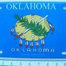 OKLAHOMA TOPPER PLATE-NEW-HEAVY PLASTIC