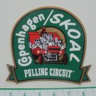 COPENHAGEN/SKOAL PULLING CIRCUIT DECAL 5.75 IN.X 5.25 INCHES