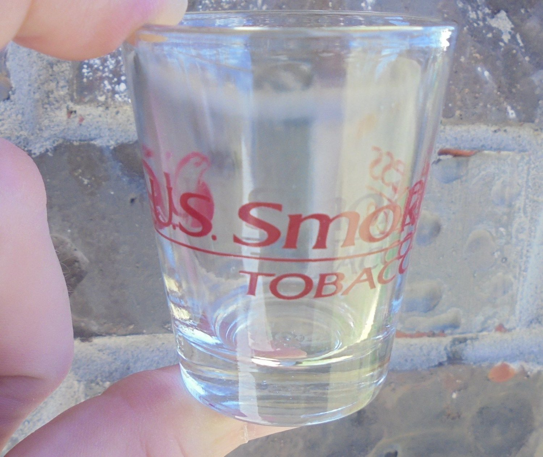 US SMOKELESS TOBACCO/COPENHAGEN/SKOAL SHOT GLASS NEW