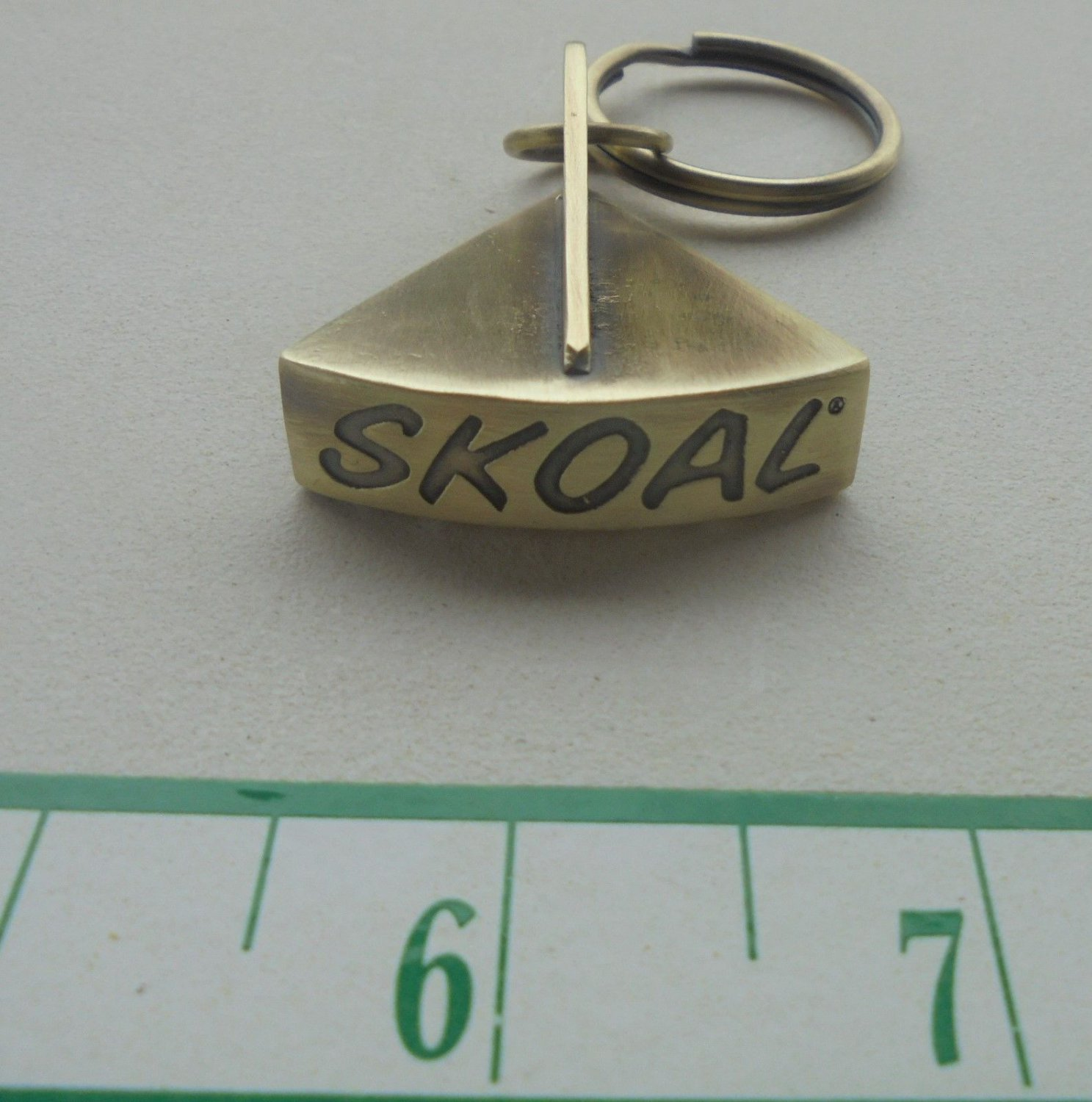 "SKOAL METAL LID CUTTER FOR KEY CHAIN ""NEW/UNUSED"""