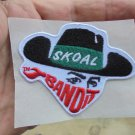 RARE SKOAL BANDIT ADHESIVE HAT PATCH NEW/UNUSED